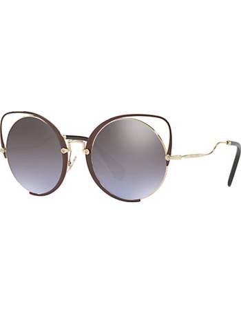 357193f1a13f Shop Women's John Lewis Round Sunglasses up to 50% Off   DealDoodle