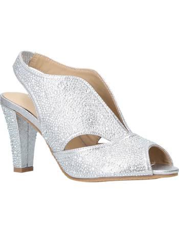 bdf94899162 Carvela Comfort. Arabella Embellished Cone Heel Open Toe Court Shoes