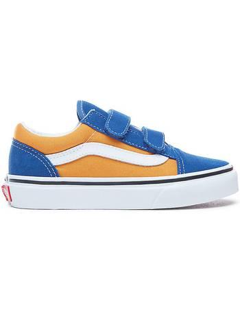 Kids Pop Old Skool V Shoes (og Blue-og Gold) Kids Blue from 07cececc1
