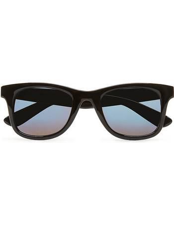 4b53ef7fbe Janelle Hipster Sunglasses (black Gradient) Women Black from Vans