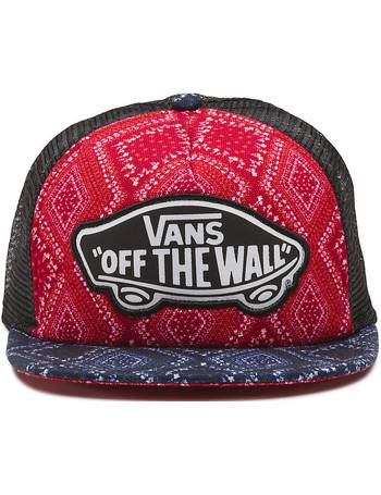 8277e7c0e3 Beach Girl Trucker Hat (bandana Chili Pepper) Women Red from Vans