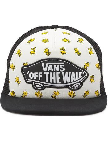 6a990e82233 Vans X Peanuts Beach Girl Trucker Hat (woodstock black-white) Women White