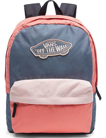 8a56d5a34a Realm Backpack (dark Slate-evening Sand-spiced Coral) Women Pink from Vans