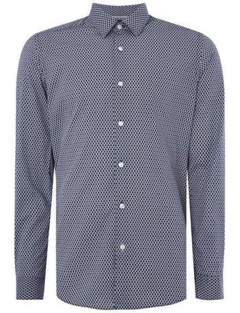 d9922f9ee Men's Hugo Boss Lukas F Regular Fit All Over Print Shirt from House Of  Fraser