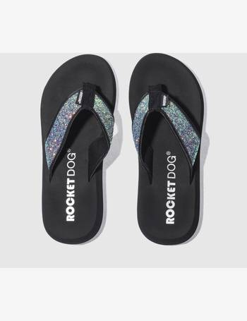 453ff2b9d0c2 Black   Green Spotlight Glitter Sandals from Schuh