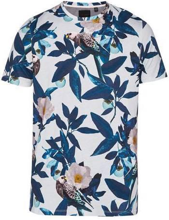 b17821539 Men s Ted Baker Duckegg Bird Print Cotton T-Shirt from House Of Fraser