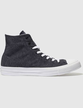 f4cf560fb37aac Converse. Navy Chuck Taylor All Star Hi Terry Trainers. from Schuh