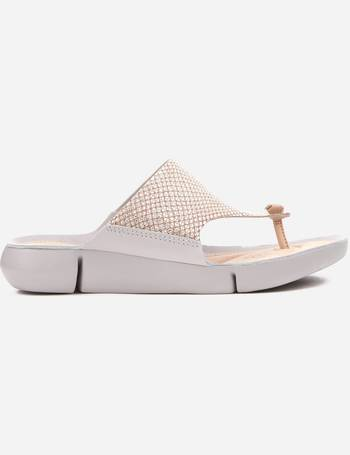 35e69e50aab5 Shop Women s Clarks Toe Post Sandals up to 60% Off