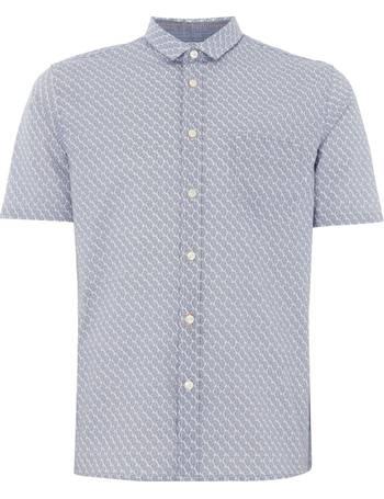 86e0c908 Men's Hugo Boss Erumba print short sleeve shirt from House Of Fraser