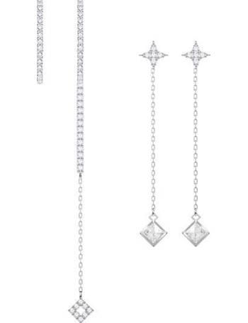 ff37ee1d1369 Swarovski. Vittore Pierced Earring Set. from House Of Fraser