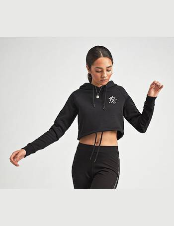 Gym King. Womens Envy Cropped Hooded Top. from Footasylum aa9589945a