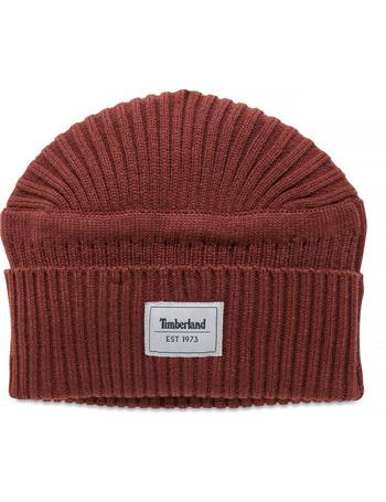 46277ac7c42 Men s Gulf Beach Beanie Hat Dusky Red Sable from Timberland