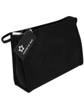 Medium Size Black Travel Make Up Bag from Superdrug becaa641b2d0e