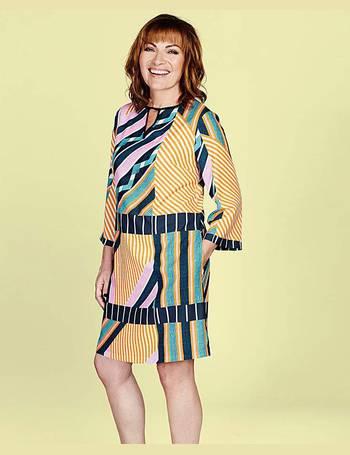 Womens Lorraine Kelly Check Longline Shirt JD Williams