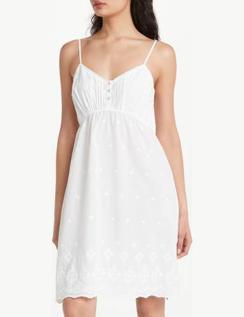 8ff2533125 John Lewis   Partners. Broderie Anglais Cotton Chemise