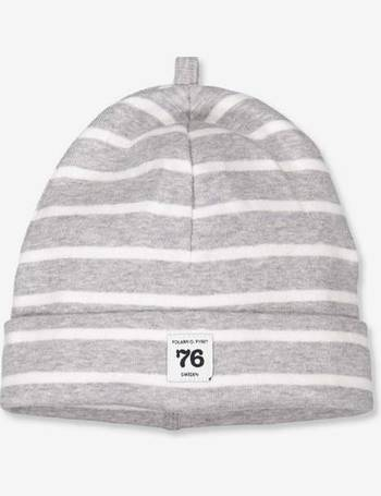 810db5ee7f9bc6 Polarn O. Pyret Baby Stripe Beanie Hat from House Of Fraser