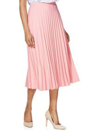 877208dd5 Pleated Midi Skirt from Tesco F&F Clothing