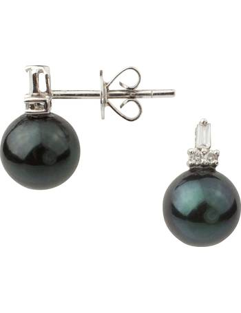 689806b333cabe Shop Women's A B Davis Pearl Earrings up to 50% Off   DealDoodle