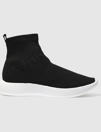 pretty nice 71bf3 718e9 Black Jeans Mead Trainers from Schuh