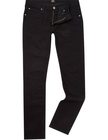 9a8c4501 Men's Lee Luke clean black slim taper jean from House Of Fraser