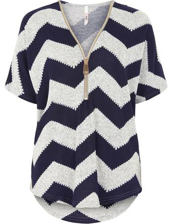 Soft Touch Zig Zag Short Sleeve Sweater from Bonmarché. Quick View · Stella  Morgan 7f07cdc3f
