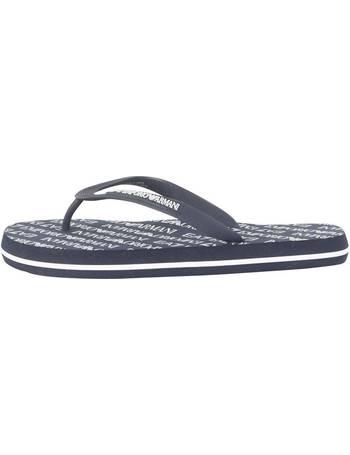 c90b2c3c9ef786 Shop Emporio Armani EA7 Men s Flip Flops up to 60% Off