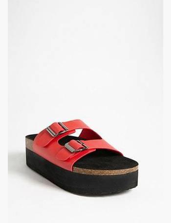 Shop Women s Forever 21 Platform Sandals up to 60% Off  065ab441ea