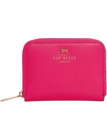 d23127588dbdb7 Ted Baker. Plie textured small bow zip around purse. from House Of Fraser