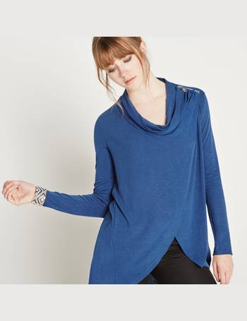 Zip Shoulder Wrap Over Cardigan from Apricot d15dda77b