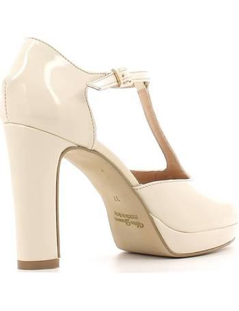 Grace Shoes. 958 High heeled sandals Women Beige ...