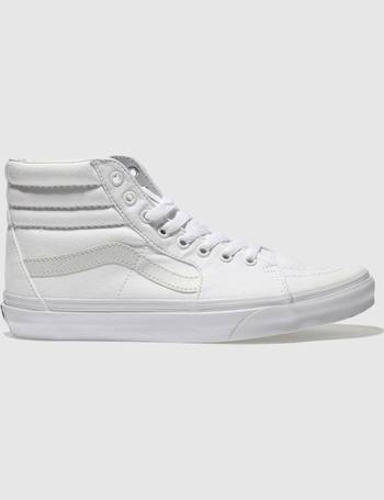 new concept 11181 36ba1 White Sk8-hi Trainers from Schuh