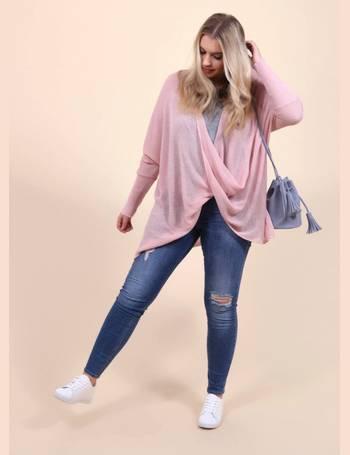 c9c4b9f92fb Shop Women's Plus Size Jumpers up to 90% Off | DealDoodle