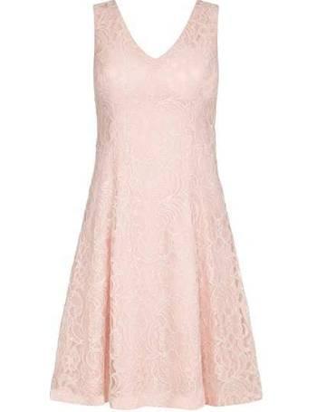 7fdbac4cb5 Mela London. Metallic Lace Skater Dress. from House Of Fraser