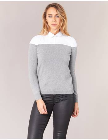 MALTEA women's Sweater in Grey from Spartoo