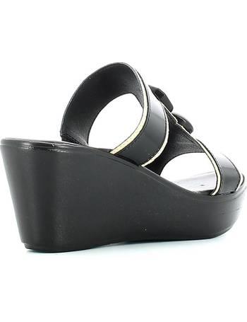 Susimoda 2501S Sandalen Frauen Schwarz Schwarz Schuhe