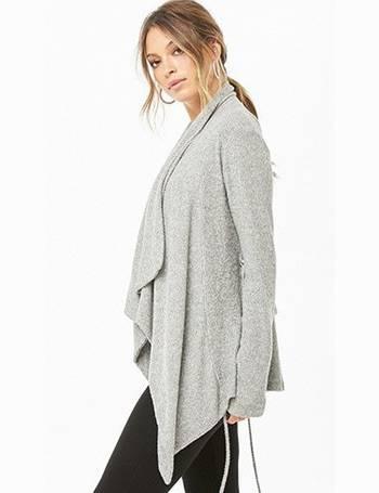 ee253629a7444a Shop Women s Forever 21 Knitted Cardigans up to 70% Off