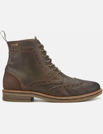 d2b2d911710 Men's Belsay Leather Brogue Lace Up Boots
