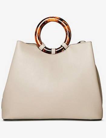 9dedd6d063671 Womens Grey Tort Handle Mini Tote Bag- Grey from Dorothy Perkins