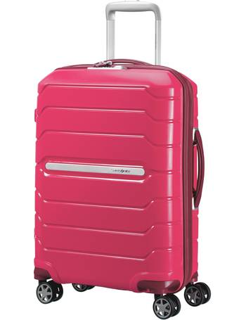 Flux Granita Red 55cm Cabin Spinner Suitcase from House Of Fraser dac6879bbf