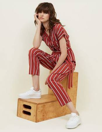 aa07766decd6 Shop Women s New Look Stripe Jumpsuits up to 75% Off