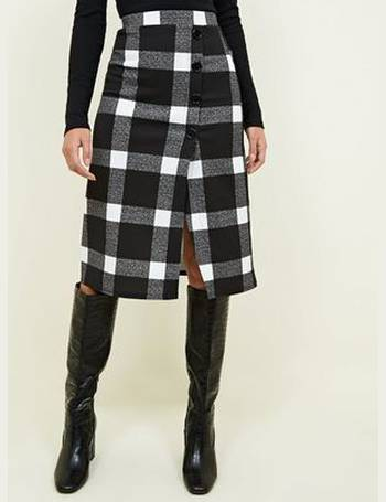 3b562d146d Shop New Look Checked Skirts for Women up to 65% Off | DealDoodle