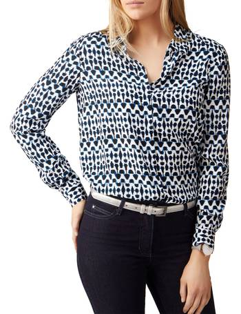 6b7f1dbe0598e6 Shop Women s Pure Collection Printed Blouses up to 40% Off