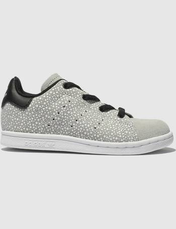 pretty nice d3c5e ea0dd Light Grey Stan Smith Trainers Toddler from Schuh