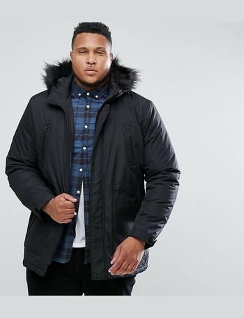11058459b Shop Mens Parka Jackets from ASOS DESIGN up to 60% Off | DealDoodle