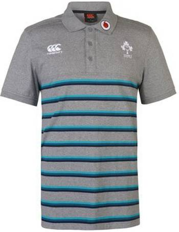 White Canterbury England RWC 2015 Winger Plain Polo Shirt