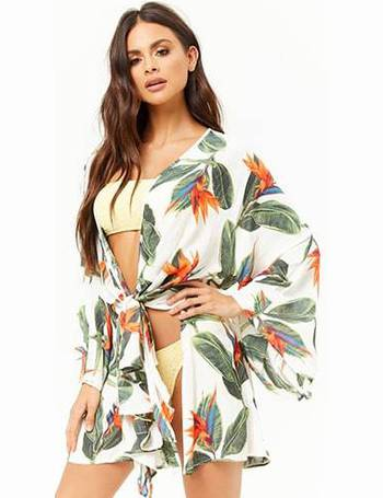 ddf9a3862ba23 Shop Forever 21 Women's Cover Ups and Beach Dresses up to 70% Off ...