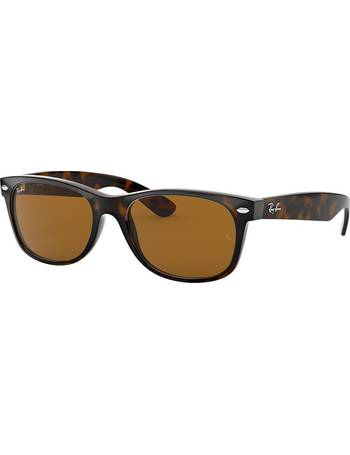 98e267e161a Ray-ban. Rb2132 52 New Wayfarer Brown Square Sunglasses