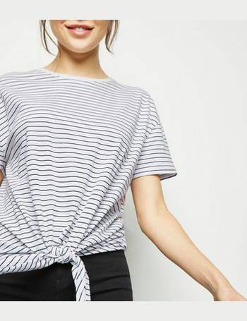 ac3988c15a Shop Women's New Look Striped T-shirts up to 85% Off | DealDoodle