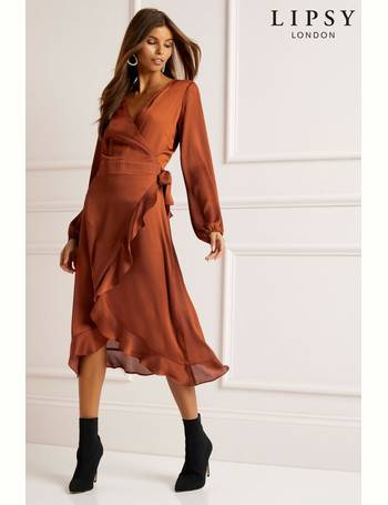 5eaec710c3a2 Shop Lipsy Wrap Dresses For Women up to 65% Off | DealDoodle