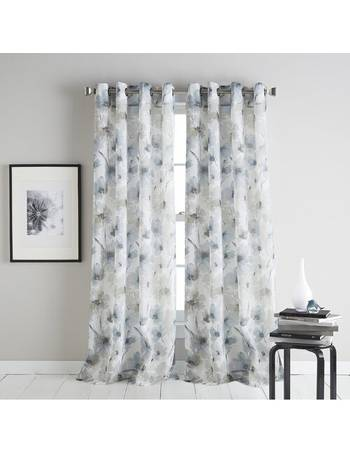 Dkny Curtains Up To 70 Off, Sheer Patterned Curtains Uk